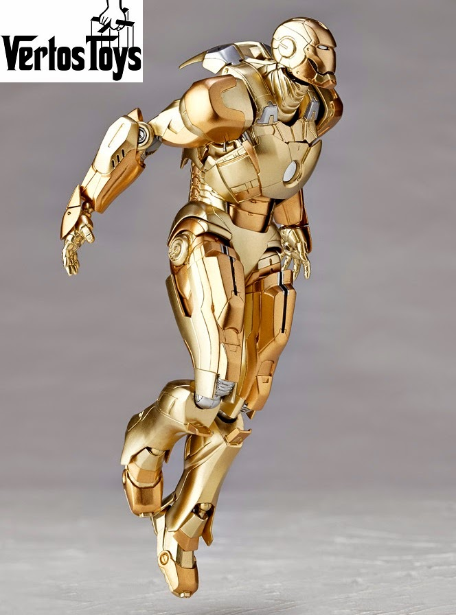 IN STOCK Revoltech SFX Series 052 - Iron Man Mark XXI Midas