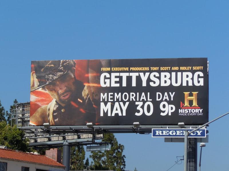 Gettysburg TV billboard