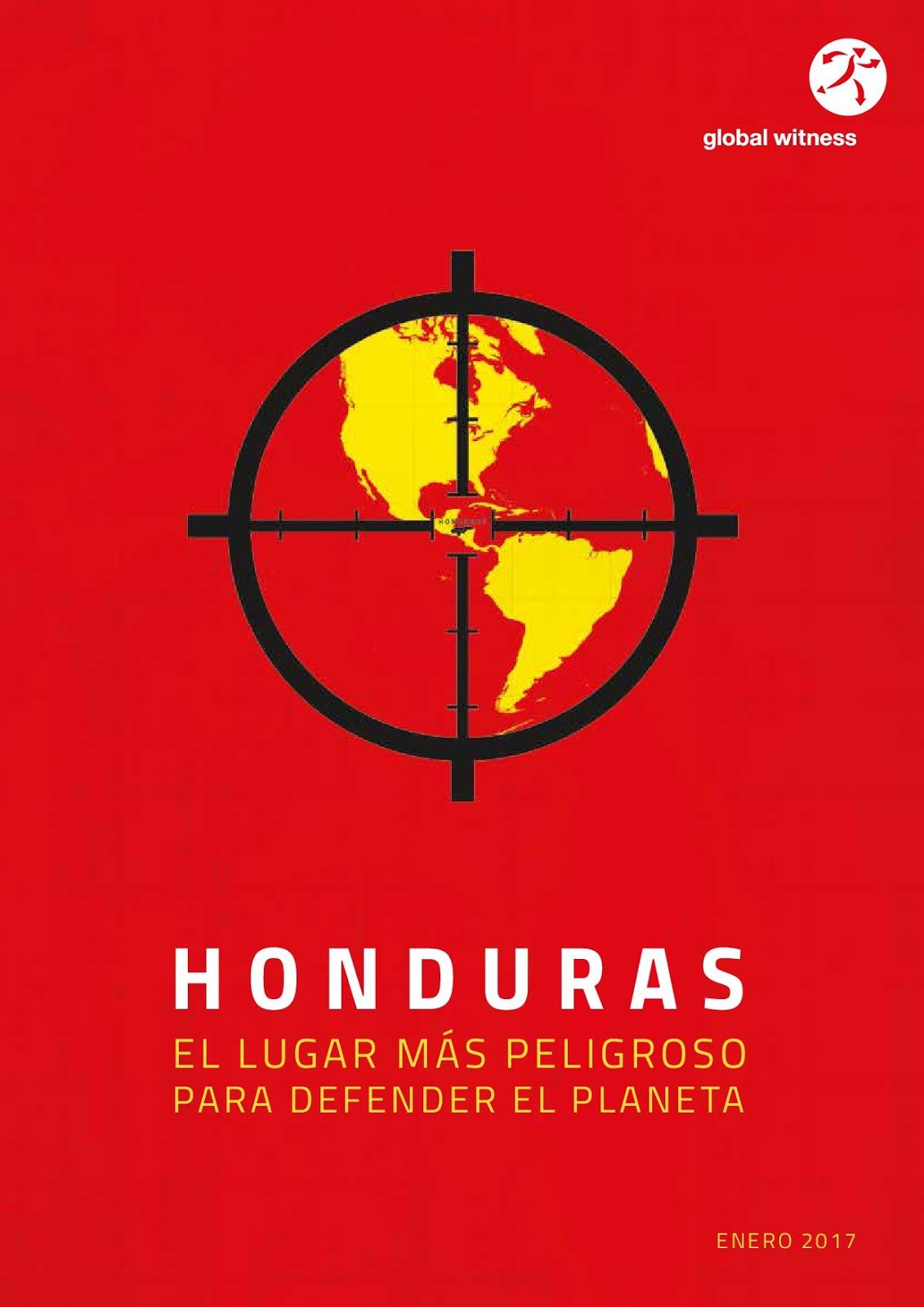 Global Witness Bericht / Honduras / Januar 2017 / Spanisch