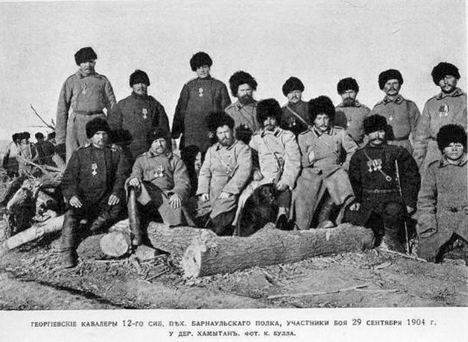 На сопках Маньчжурии. Русско-японская война (1904-1905)