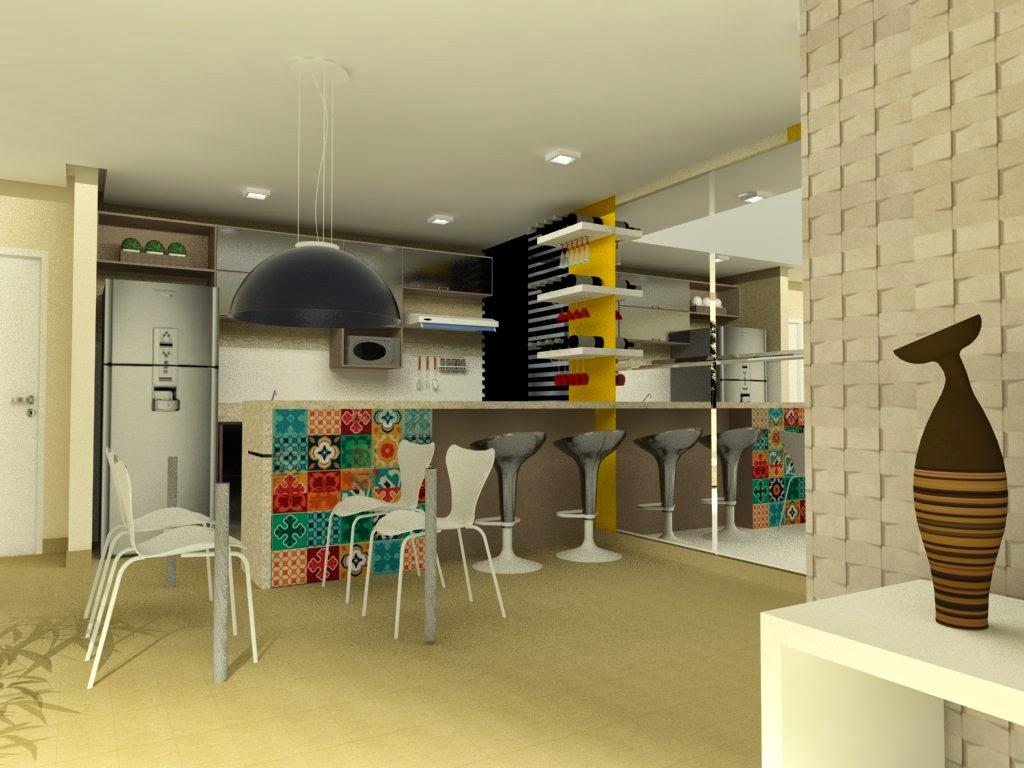Na parede na cozinha com luzes de led. #B38918 1024 768