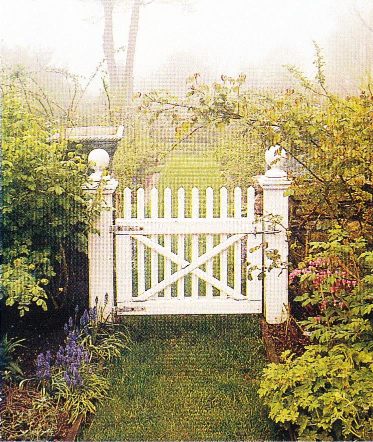 Garden Gates and Fences Thinking Outside the Boxwood