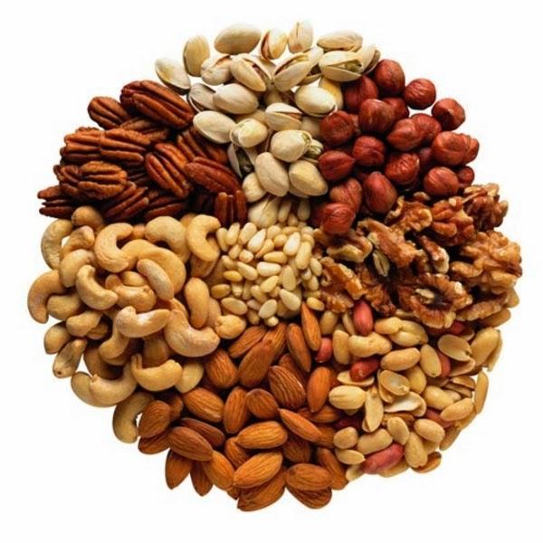 накиснати семена и ядки