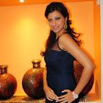 Hamsa Nandini Spicy in Blue Skirt at Food Festival Cute Photos