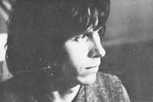 El teclista Jean-Philippe Goude que contribuyó con el solo de Mini-Moog en el tema Greenland, con el que se cierra Iceland (1979), de Richard Pinhas