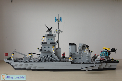 Enlighten Brick Toy Navy Ship 2