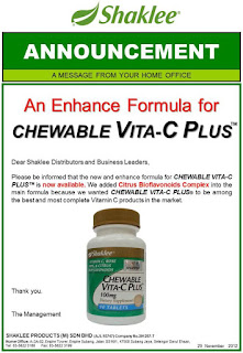 shaklee chewable vita-c plus