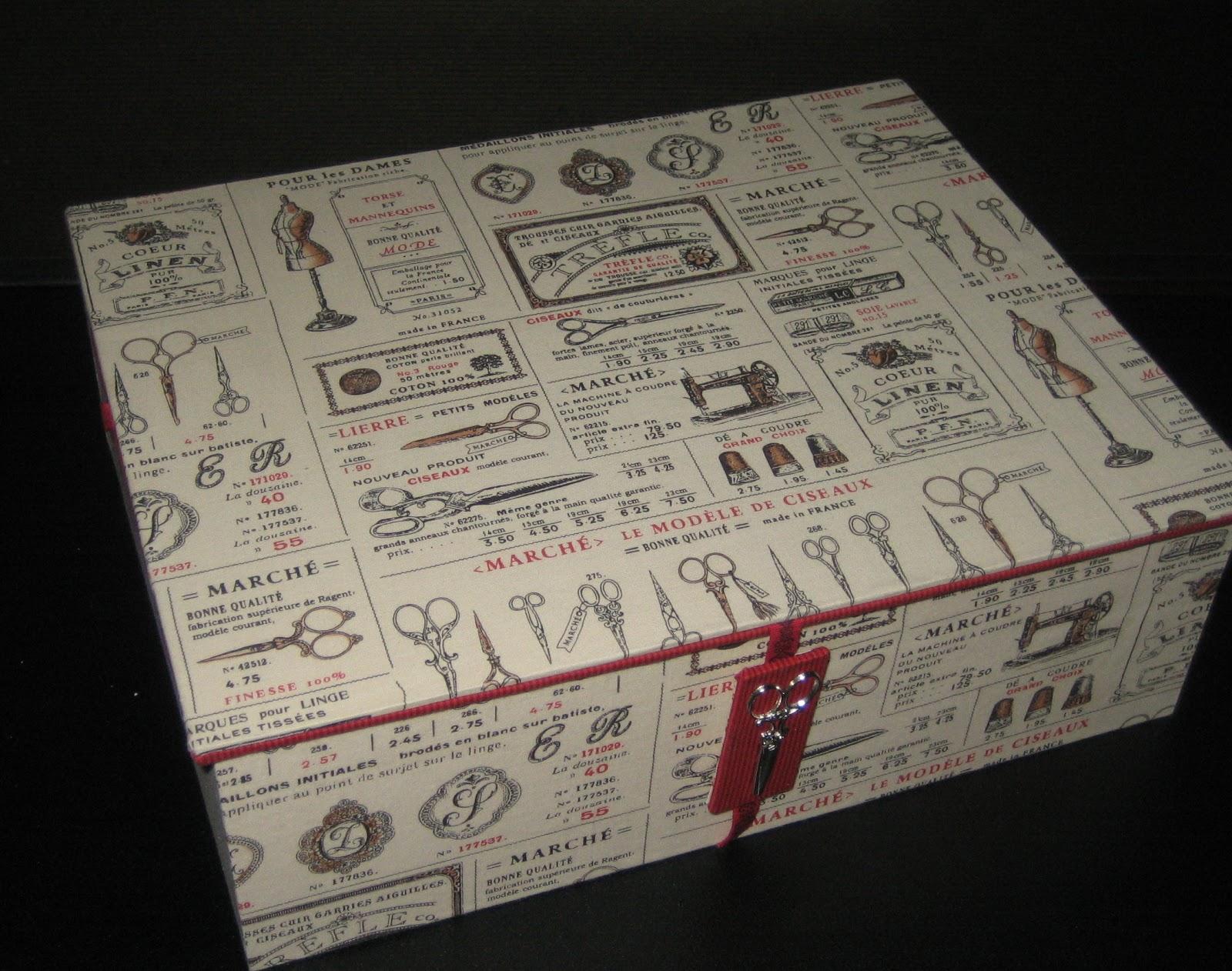 cartonnage passion d cembre 2012. Black Bedroom Furniture Sets. Home Design Ideas