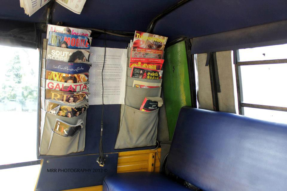 Magazines in AnnaDurai Auto . Photo Courtesy : MRR Photography