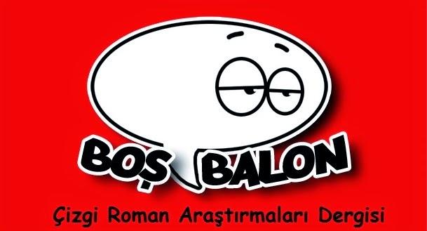 BOŞ BALON Çizgi Roman Araştırmaları Dergisi