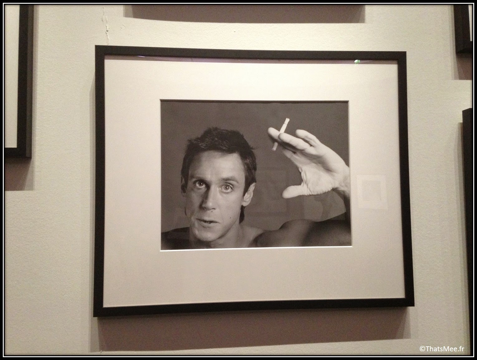 expo photographie Robert Mapplethorpe photographe américain 70s portrait Iggy Pop, expo Mapplethorpe Grand Palais Paris 2014