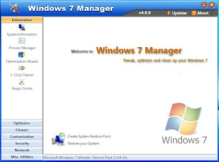 Yamicsoft Windows 7 Manager v4.0.9 Full Keygen Patch