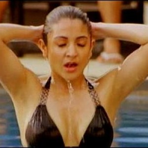 Anushka Sharma in swiming suit