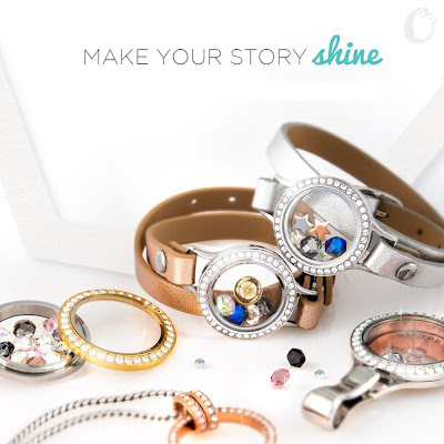 Make Your Story Shine with Origami Owl Living Locket necklaces, bracelets, lanyard lockets filled with your favorite charms at StoriedCharms.com