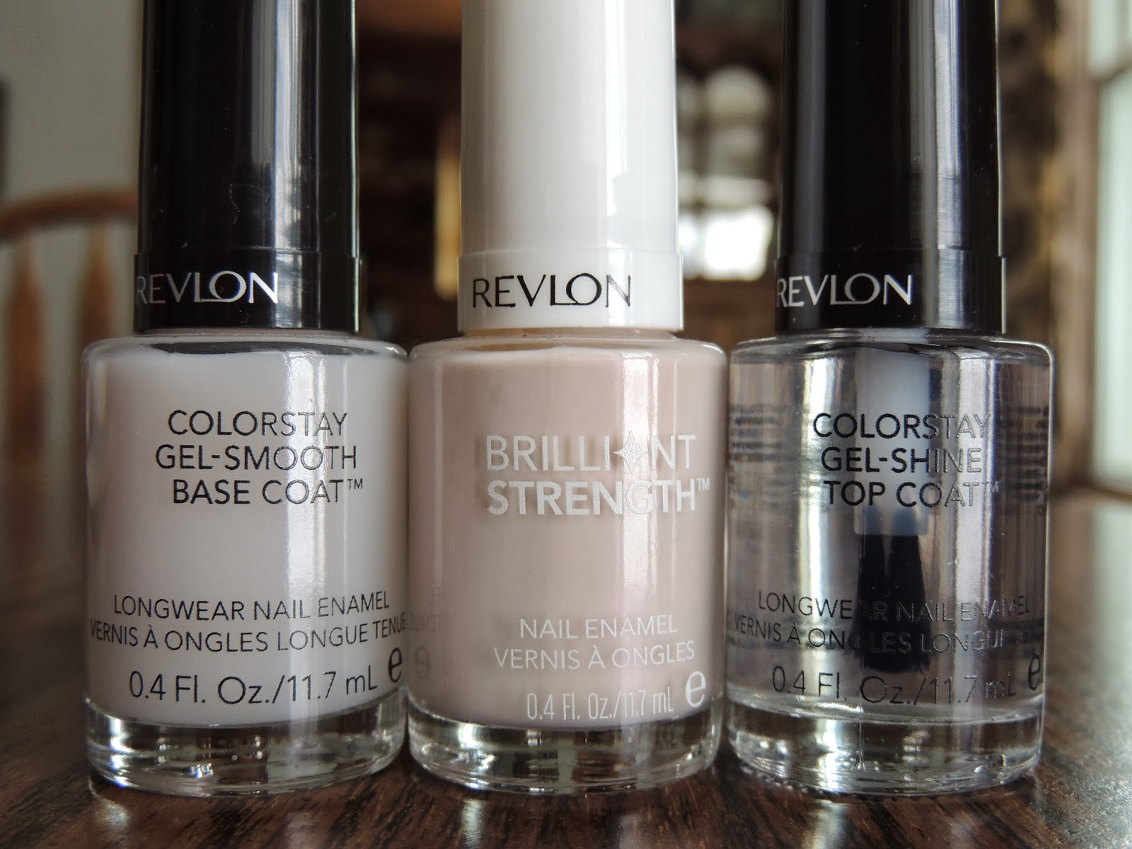 Brittany\'s Secret: REVIEW: Revlon Colorstay Gel-Smooth Base Coat and ...