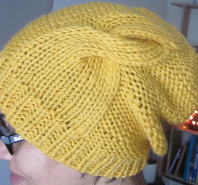 Work Sock Hat Knitting Pattern : Karn knits updated double twist hat pattern