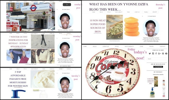 On The Yvonne Dzifa Blog this Week