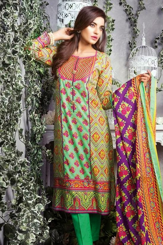 Satrangi Summer Lawn Collection