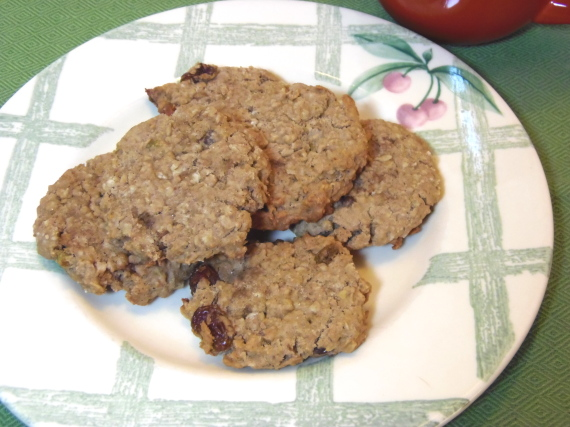 Whole Wheat Oatmeal Raisin Cookie Recipe