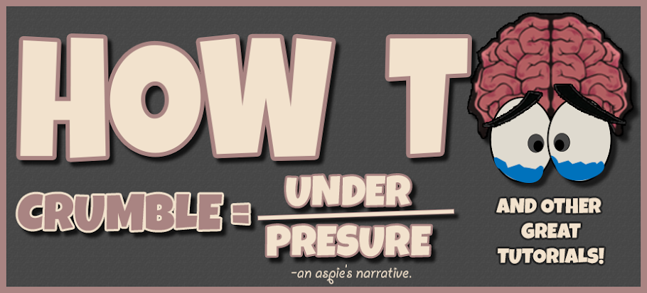 how to crumble under pressure
