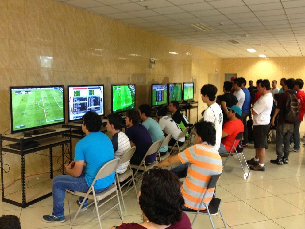 centro de videojuegos