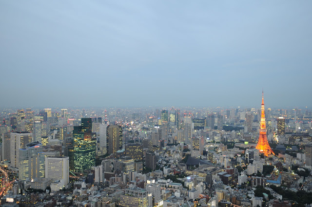 Sky Deck Roppongi Hills Tokyo