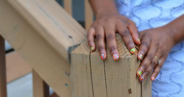 kiss tribal nail stickers