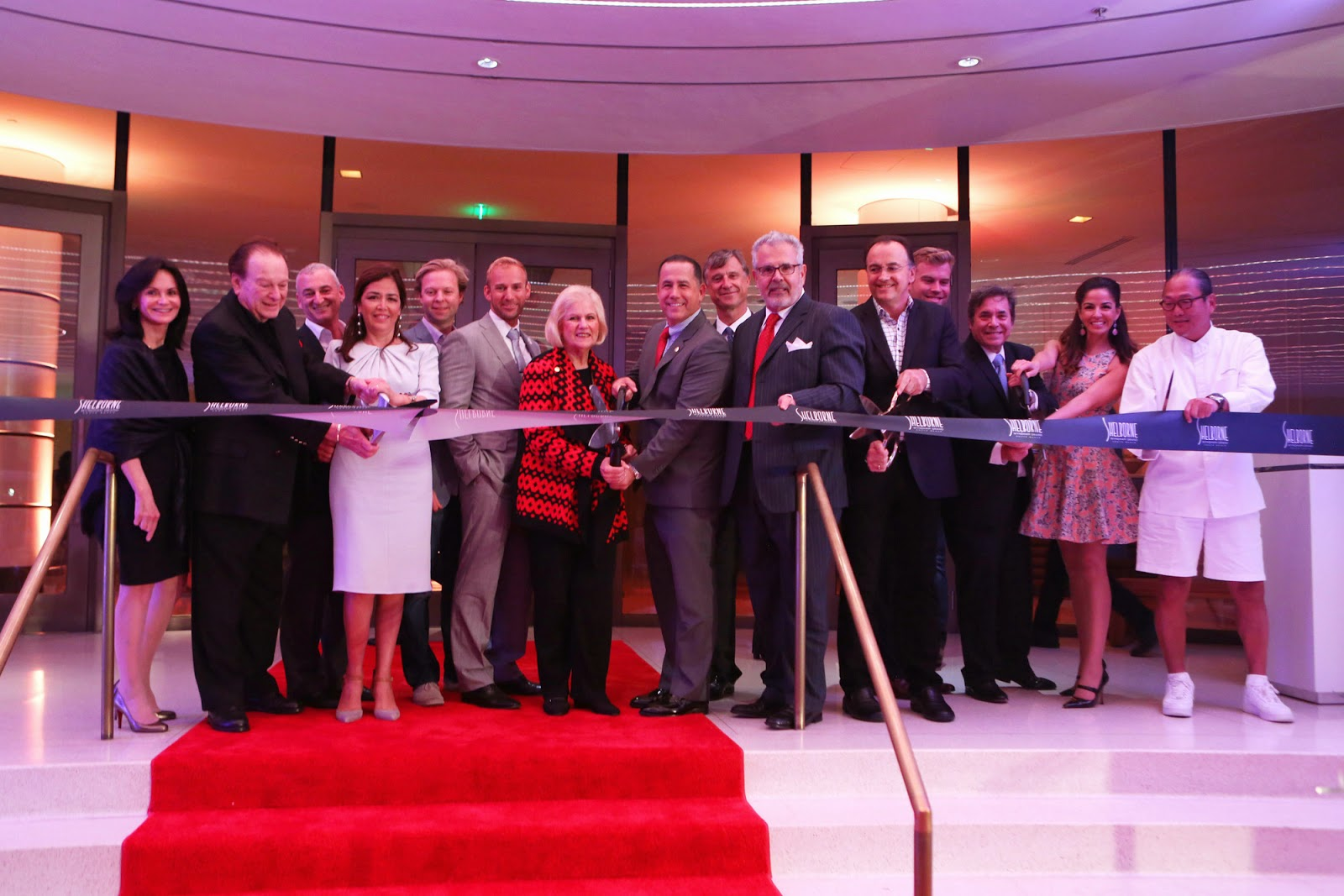 Shelborne Wyndham Grand South Beach Hosts Ribbon Cutting Ceremony and VIP Celebration