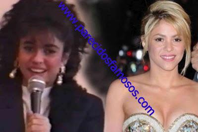 Shakira Antes y Después