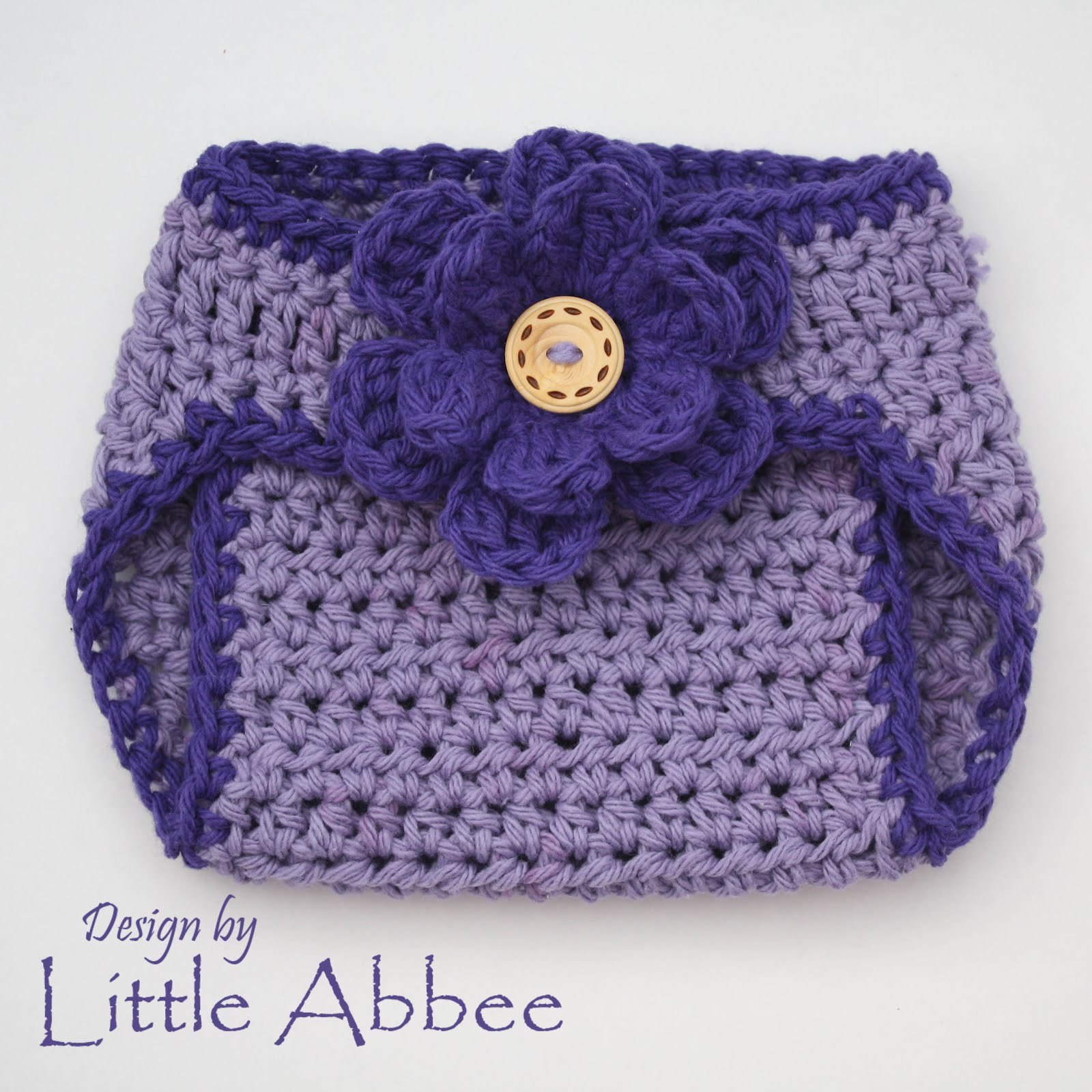 Crochet Patterns Diaper Covers : Little Abbee: Diaper Cover Crochet Pattern