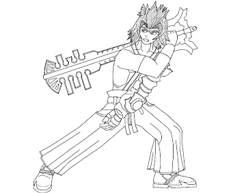#4 Terra Coloring Page