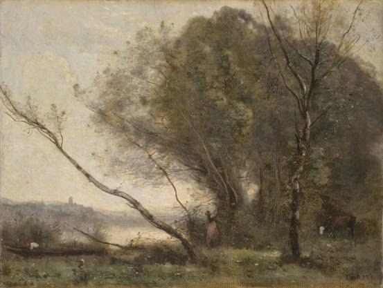 Corot - l'arbre penché
