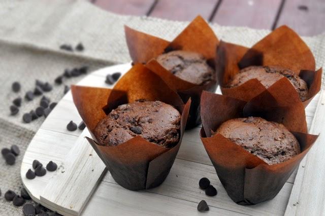 Рецепт маффинов шоколадных