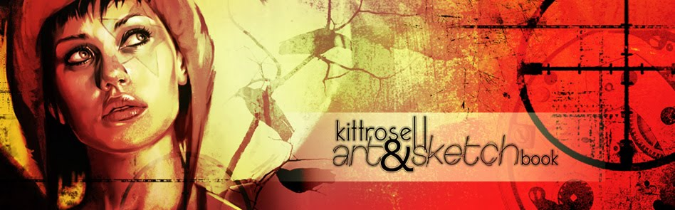 kittrose || art&amp;sketch book