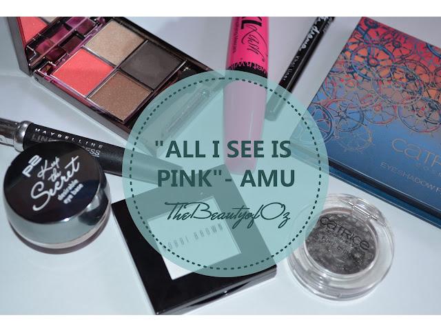 Tropisches AMU mit kräftigem Pink