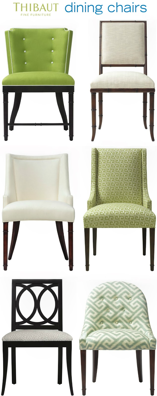 Attrayant And Finally, I LOVE Every Single Thibaut Dining Chair...here They Are In  All Their Glory: