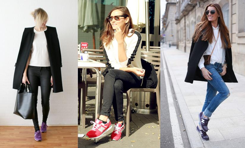 new balance mujer para vestir