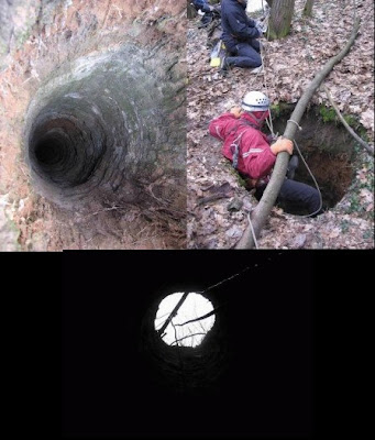 Strange Holes in Russia
