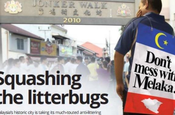Buang sampah merata-rata di Melaka bakal dikenakan hukuman berat