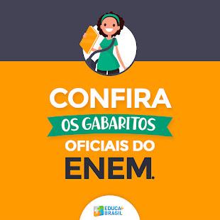 GABARITOS OFICIAIS DAS PROVAS DO ENEM