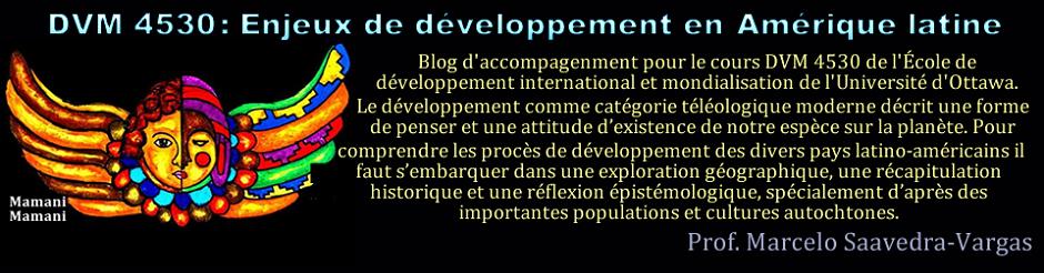 Enjeux de développement Internationale en Amérique Latine