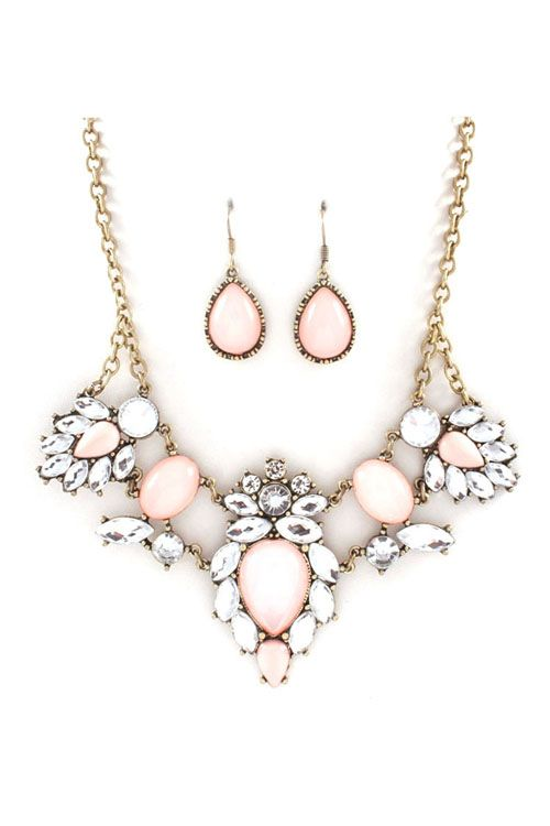 Anne Marie Necklace Set in Aspen