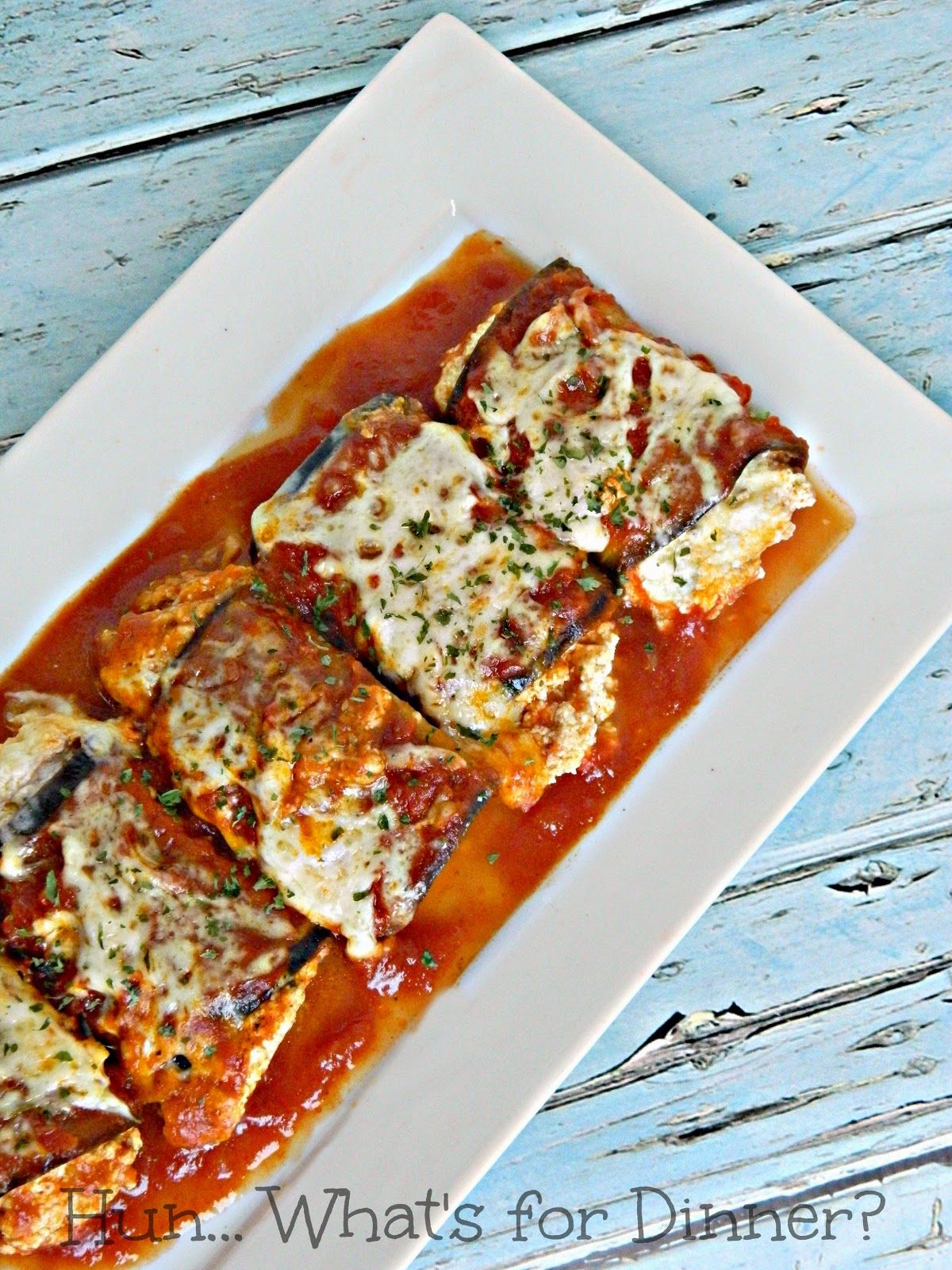 Eggplant Rollatini- Low Carb Italian Meal