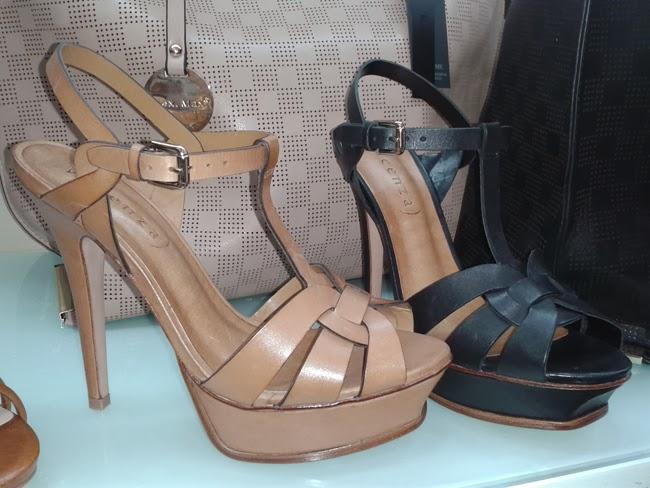 Estas preciosas sandalias replica exacta de las sandalias Tribute de Yves Saint Laurent, eso si por muchisimo menos y en piel (rondaban los 100\u20ac euros)