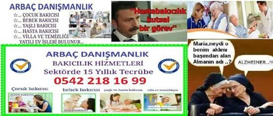 MERSİN ARBAÇ BAKICI 0542 218 16 99 AJANSI 0542 218 16 99