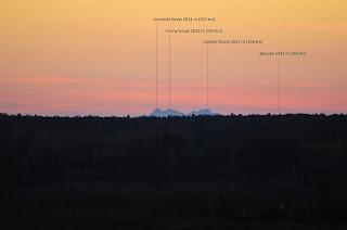 Tatry z Zapola, 2015.11.08. (około godziny 16:15, Nikon D300+ Sigma 300mm/f5.6/iso-2000) fot. Łukasz Żądło