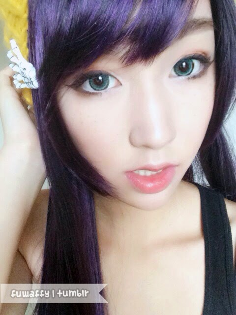 I.Fairy Jewel Green colored contacts