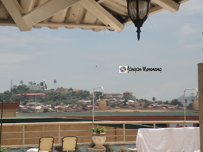 Muammar Ghadafi Mosque Uganda from Rooftop