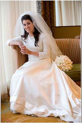 Por que as noivas judias vestem-se de branco?