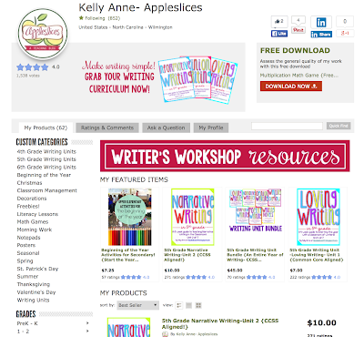 https://www.teacherspayteachers.com/Store/Kelly-Anne-Appleslices